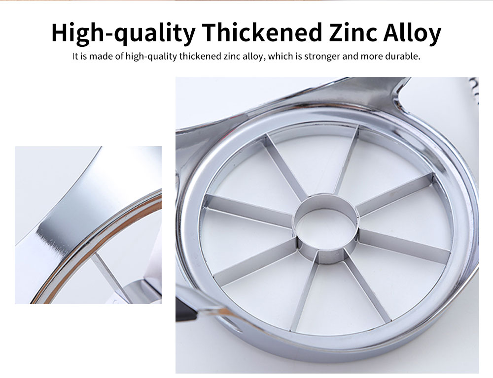 High-quality Thickened Zinc Alloy Cut Fruit Artifact, Apple Slicer, with User-friendly Handle Design 5