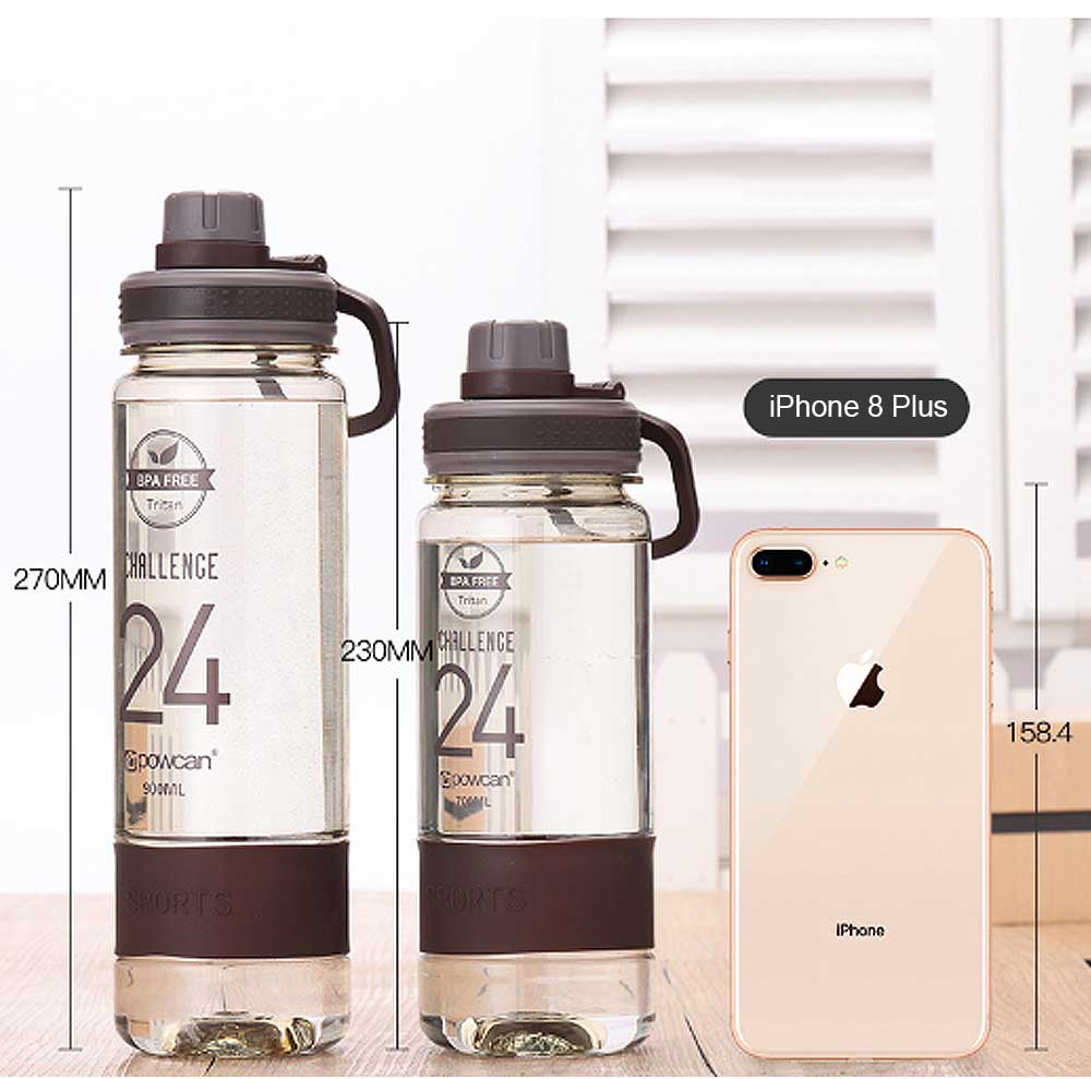 Portable Space Cup for Outdoor Activities, Water Cup for Students' Sports in Summer Transparent Plastic Bottle Creative Water Cup 5