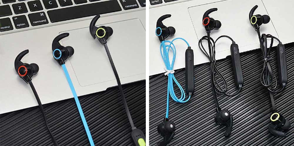 In-ear Wireless Headphone, Hanging neck earphone, Small Horn Bluetooth Headset For Running 9