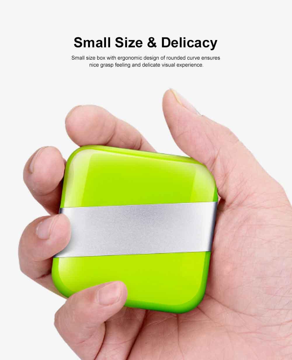 Portable Stylish Mini Medicine Box for Tablets or Pills Separation Put Sealing Anti Humidity Pill Case Shading Medicine Case 4