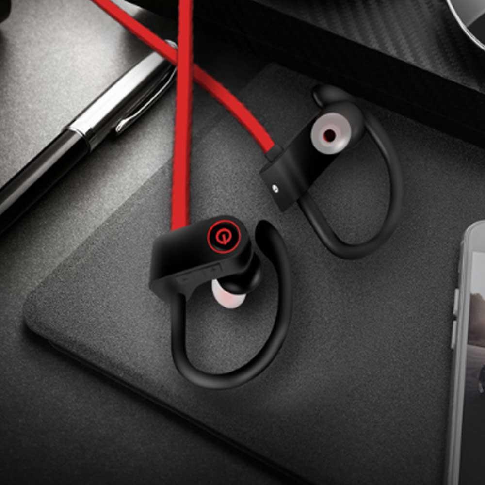 New U8 Wireless Bluetooth Headset, Hanging Ear Running Universal Headphone, Waterproof Earphone 10