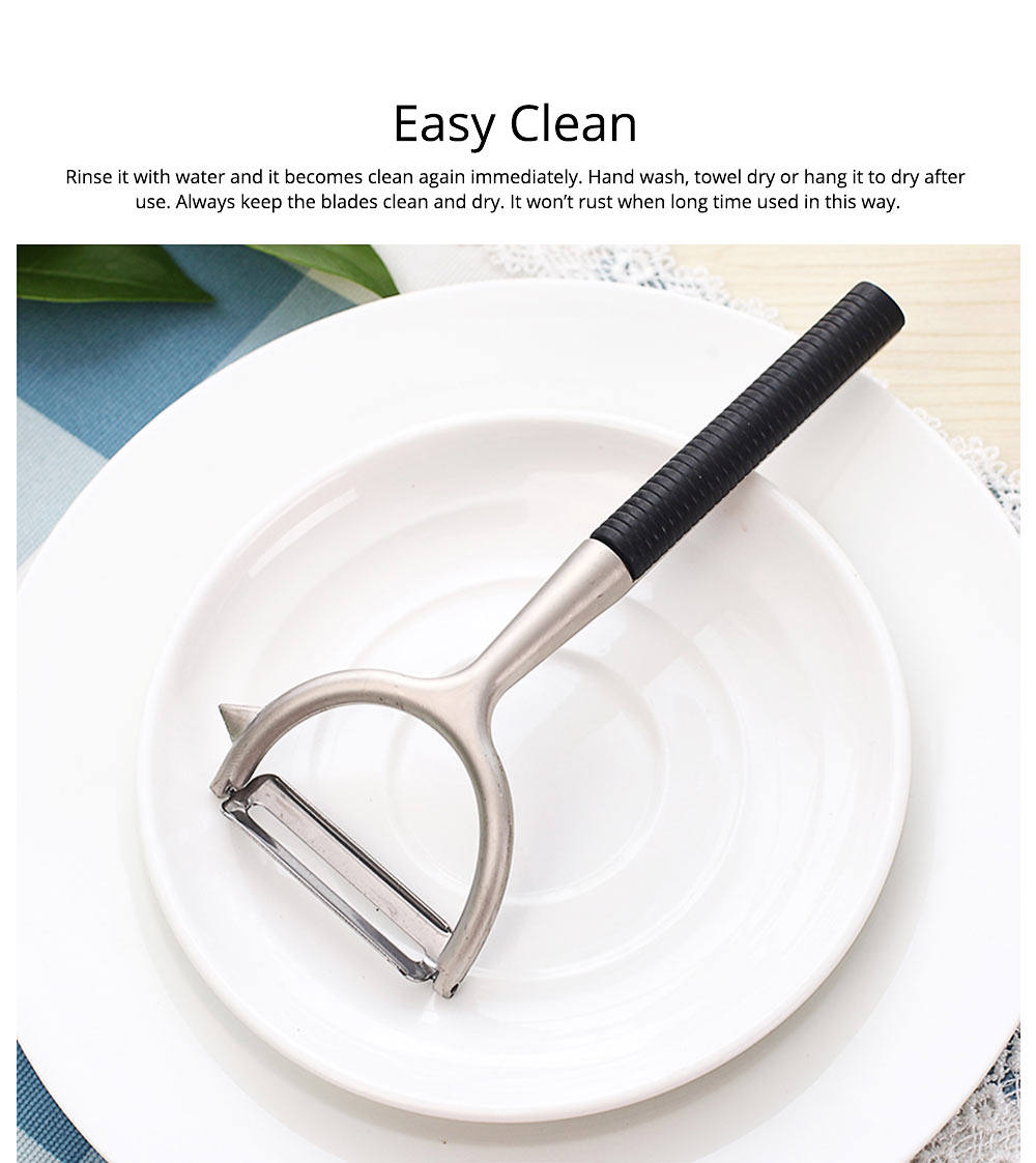 Zinc Alloy Multifunctional Peeler Knife, Portable Vegetable Potato Fruit Peeler, Kitchen Cut Tools 2