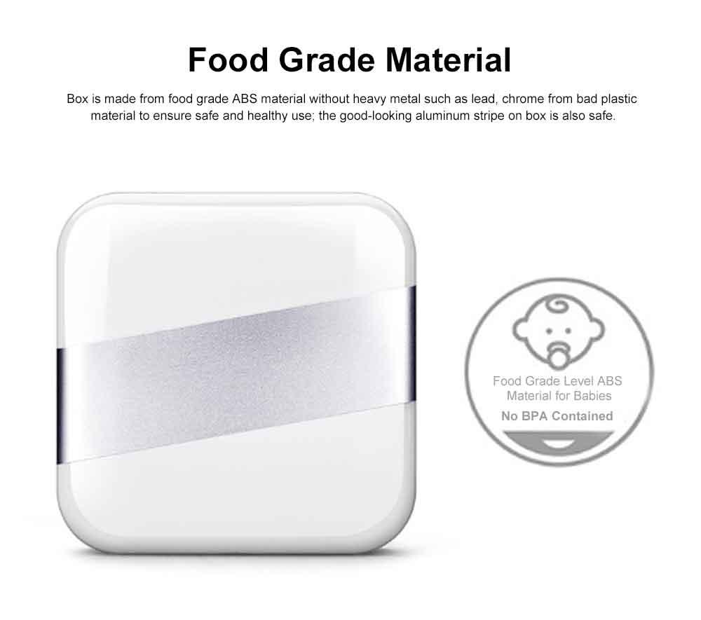 Portable Stylish Mini Medicine Box for Tablets or Pills Separation Put Sealing Anti Humidity Pill Case Shading Medicine Case 1