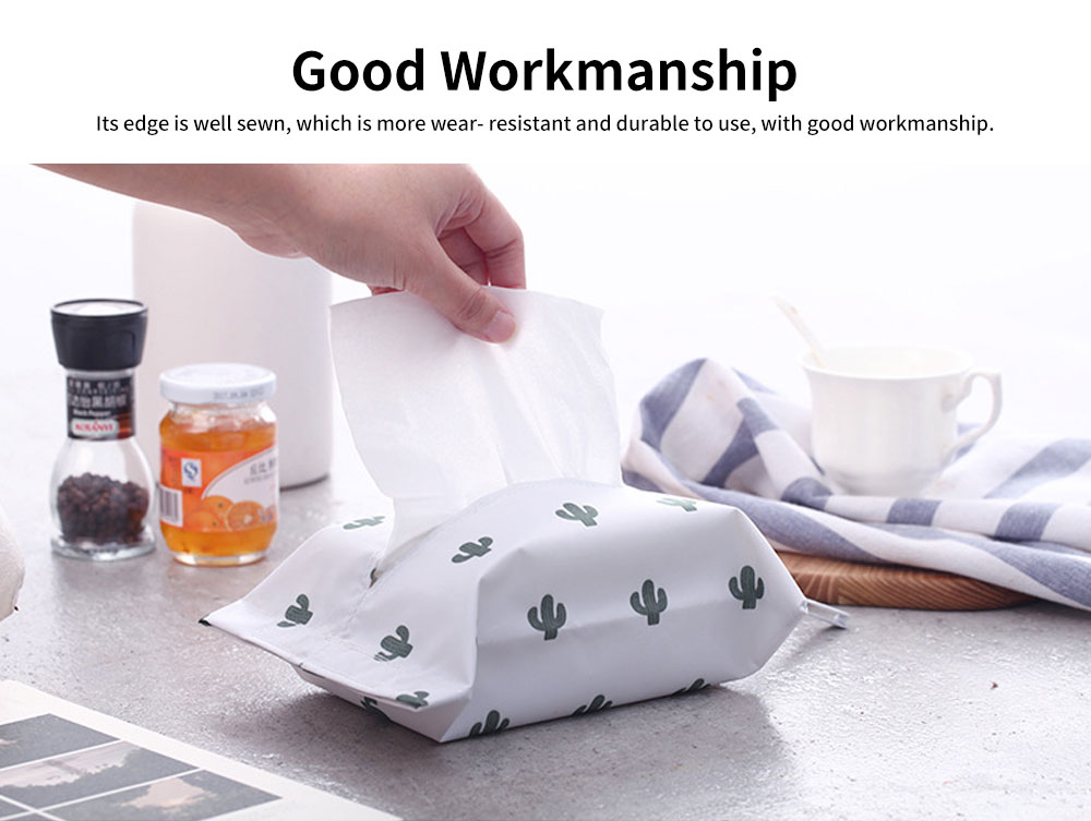 New Creative Hanging Paper Storage Boxes, Waterproof Oxford Fabric Tissue Bag, Home, Office, Shop Essential 3