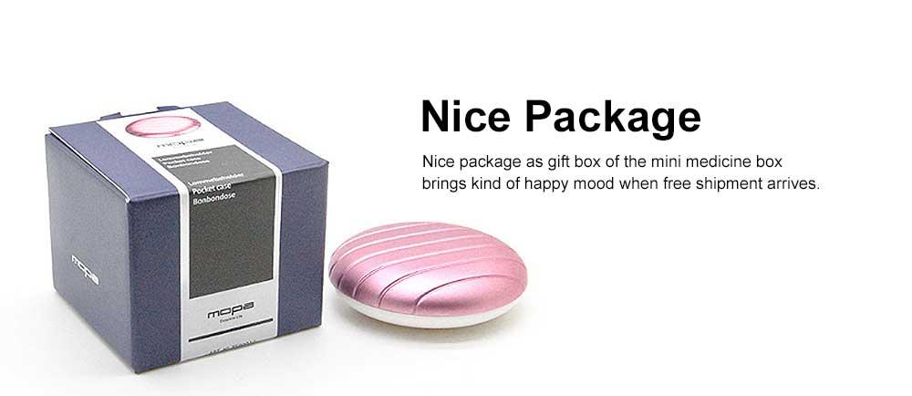Portable Mini Medicine Box for Medicines or Pills Storage Stylish Small Size Storage Case Creative Storage Box 5