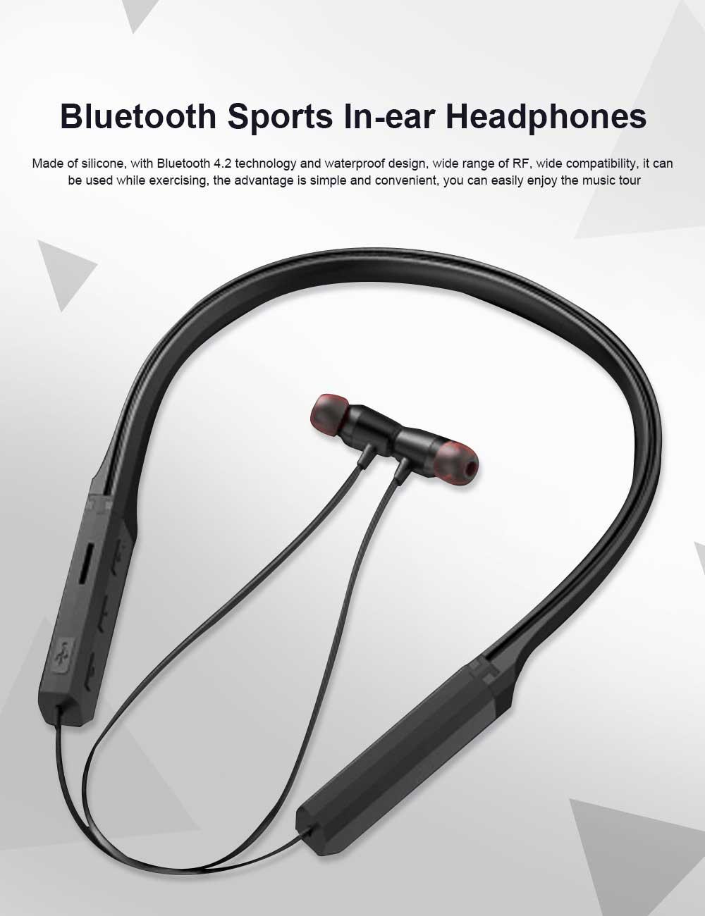 Bluetooth Sports Headphones Wireless Subwoofer Earphone Hanging Ear Headset 0