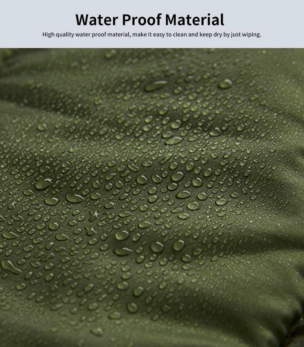 Outdoor Waterproof Sleeping Bag, Lightweight Flannel Warm Sleeping Bag for Travel 4 Seasons 2