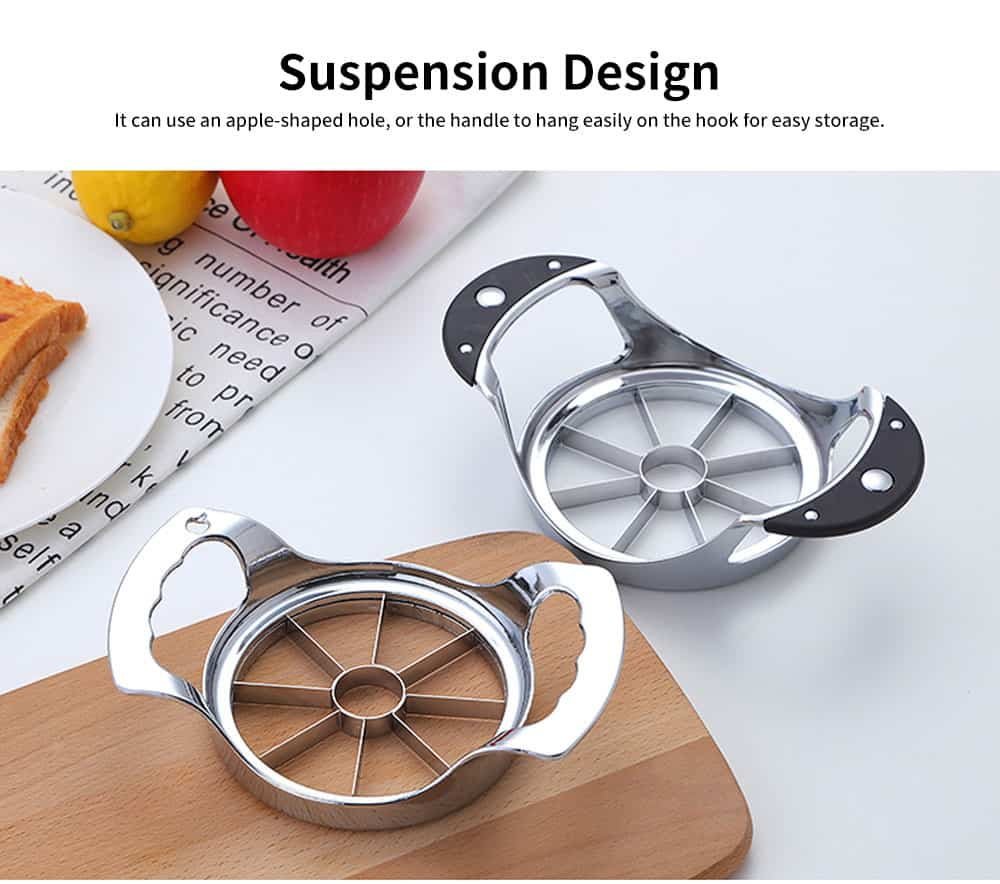 High-quality Thickened Zinc Alloy Cut Fruit Artifact, Apple Slicer, with User-friendly Handle Design 3