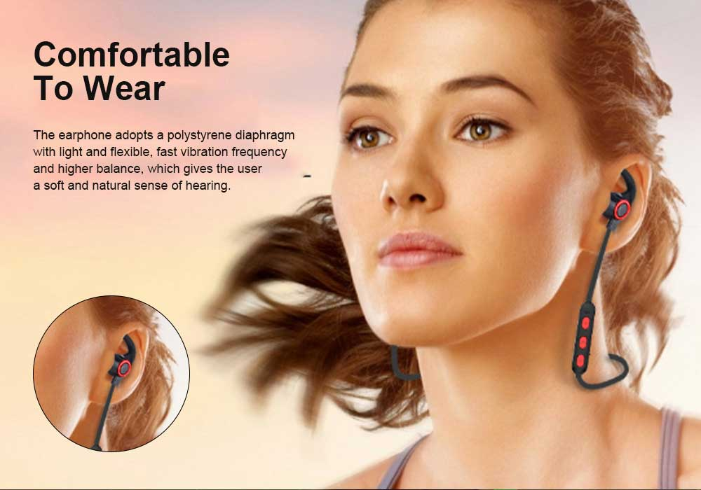 In-ear Wireless Headphone, Hanging neck earphone, Small Horn Bluetooth Headset For Running 1
