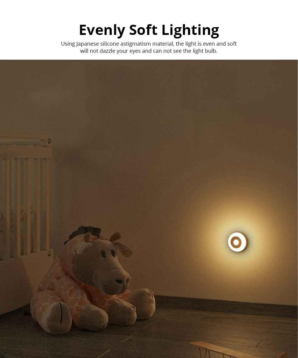 Battery-Powered LED Motion Sensor Night Light Human Induction Touch Sensor LED Cabinet Lights, Magnet Stick-on Closet Light 4