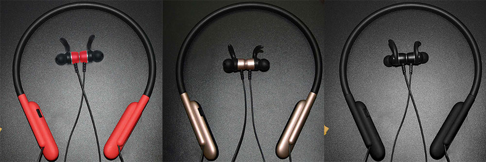 Imported Bluetooth V4.2 Headphones, Hanging Neck Sports Earphones, Binaural Stereo Headset 10
