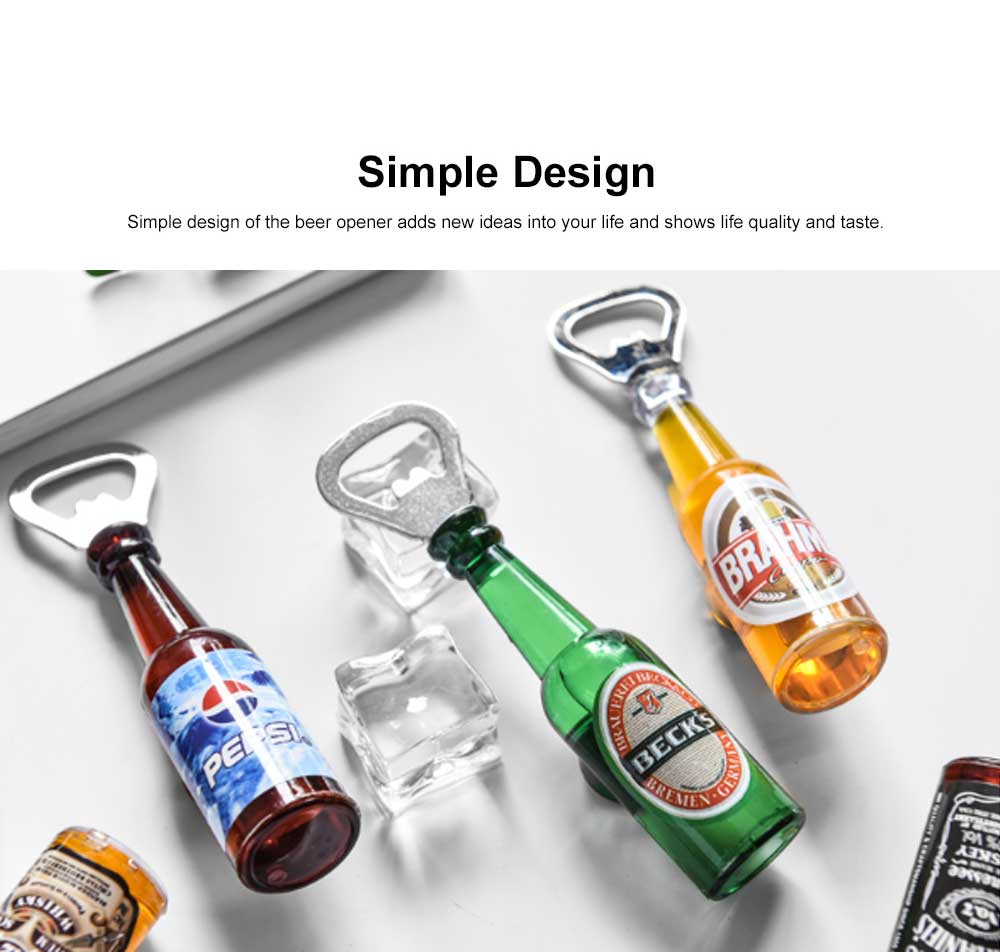 Magnetic Beer Opener with Multiple Functions Stylish Beer Opener Household Accessories American Style Beer Opener 1