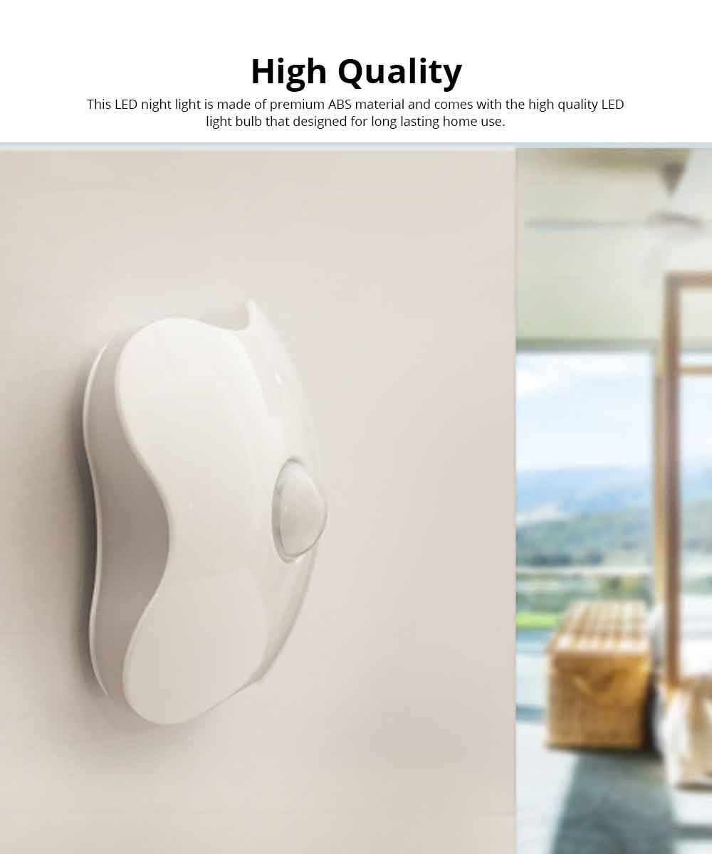 Intelligent Induction Night light USB Charged Touch Sensor LED Cabinet Lights, Magnet Stick-on Closet Light, Activated Night Light for Bedroom, Stairs Bar, Car, Kitchen, Bathroom 5