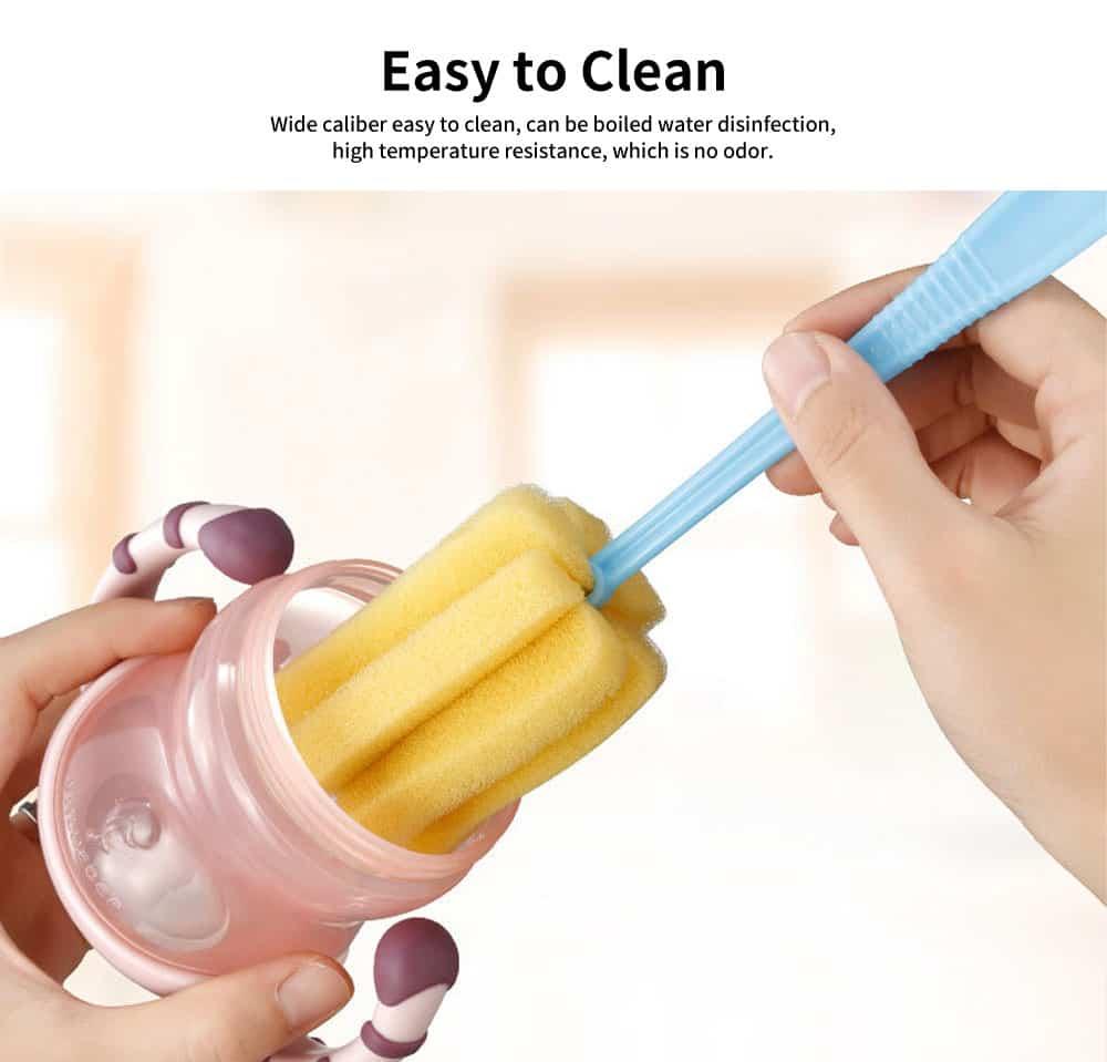 Leak-proof Baby Feeder, PP Water Cup with Handle, Anti-drop Kindergarten Baby Straw Bottle 5