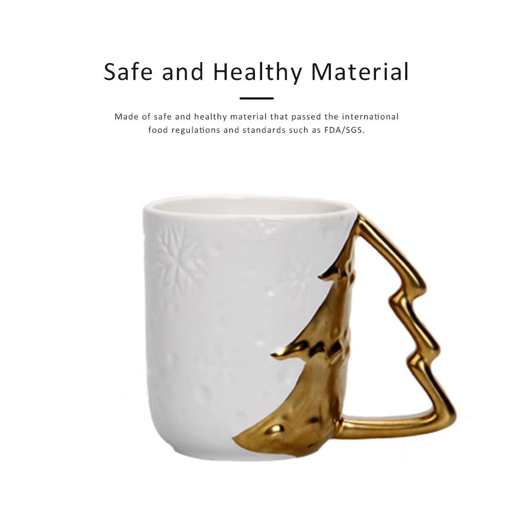 Ceramic Mug Cup with Glaze for Tea, Milk, Coffee, Water, Decoration Cup for Christmas, Festivals, Cartoon Water Mug 3