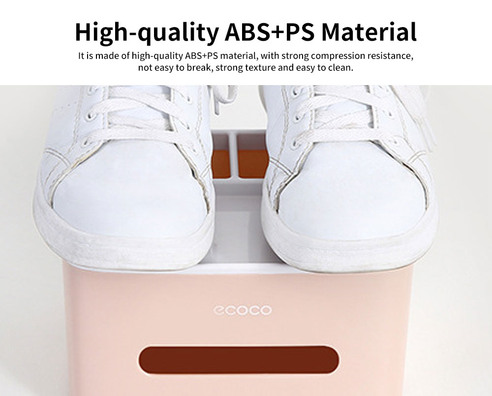Creative Desktop Storage Tissue Box, Multifunctional Practical Simple Container, with Double Layer Storage Design 1