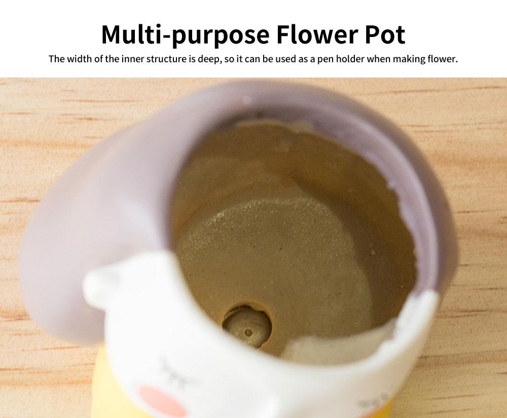 Cartoon Mini Meaty Flowerpot, Indoor Green Plant Floret Basin, Creative and Personality Flower Arrangement 2