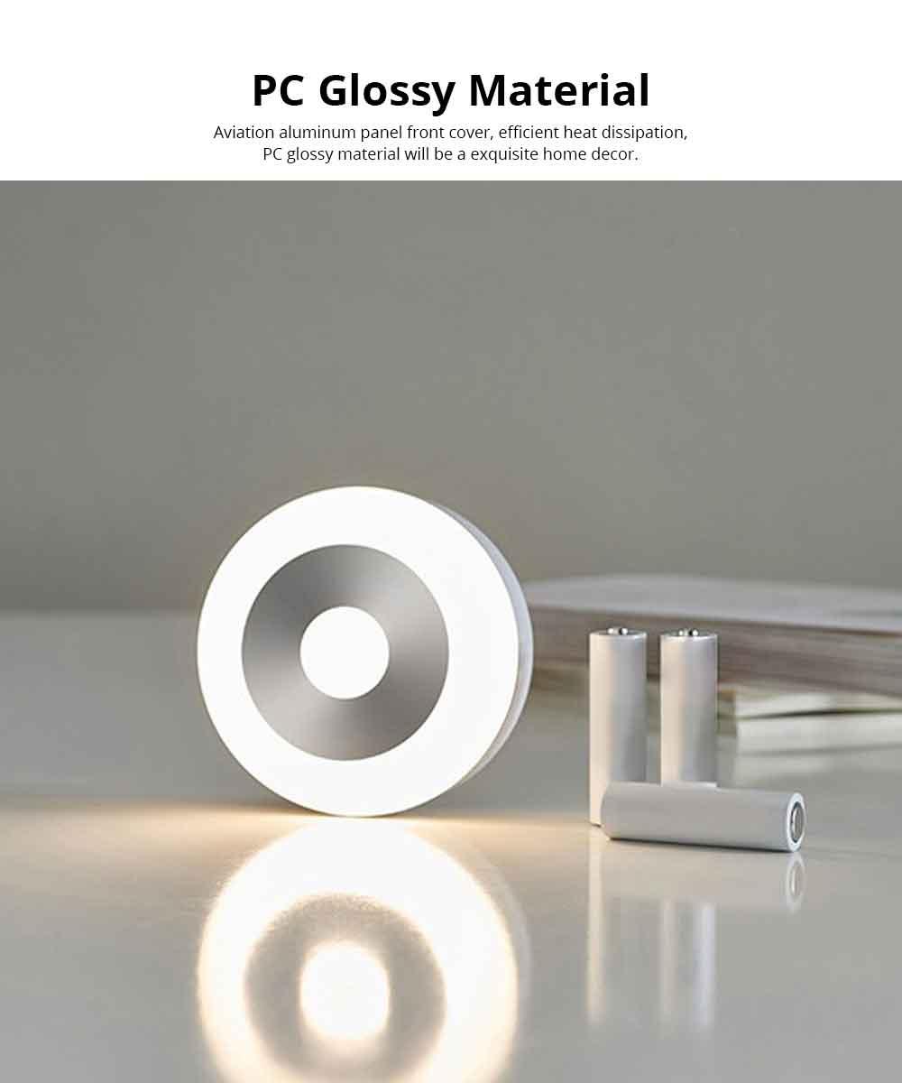 Battery-Powered LED Motion Sensor Night Light Human Induction Touch Sensor LED Cabinet Lights, Magnet Stick-on Closet Light 5