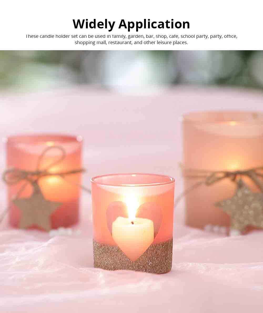 Handmade DIY Romantic Scented Candle Glass Dinner Bedroom Girly Decor Candle Holder Candlelight Props Candle Cup 4