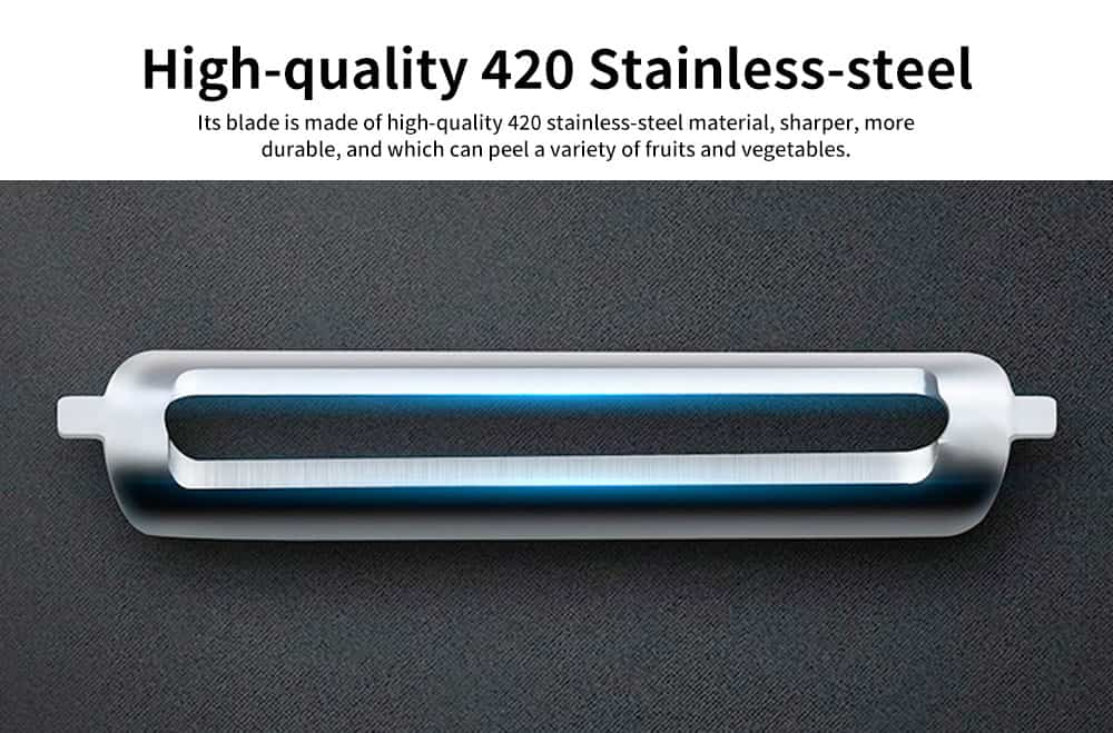 ABS Stainless-steel Multi-function Paring Knife, Practical Peeling artifact, with The Design of Measuring Noodles 3