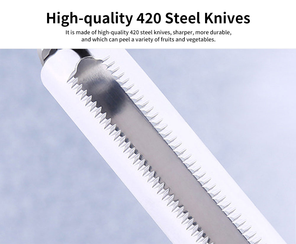 High-quality 420 Steel Knives Apple Peeler, Durable and Solider Multi-function Peeler, for a Variety of Fruits and Vegetables 1