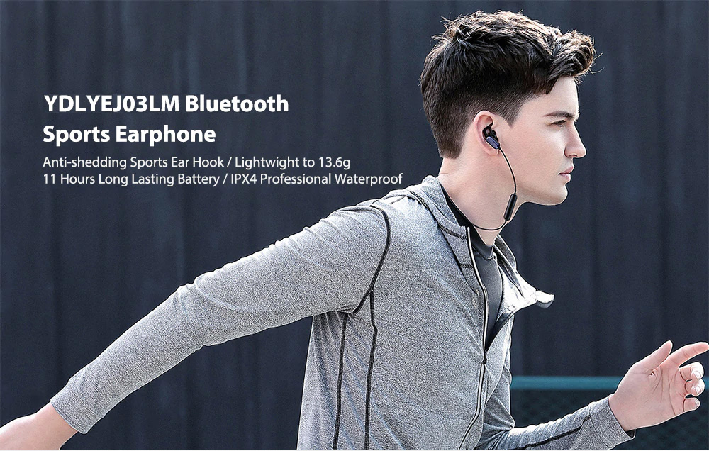 Xiaomi Wireless Headphone Sport Bluetooth Headset Sweat Proof In-ear Hours Playing For Gym Running Workout 0