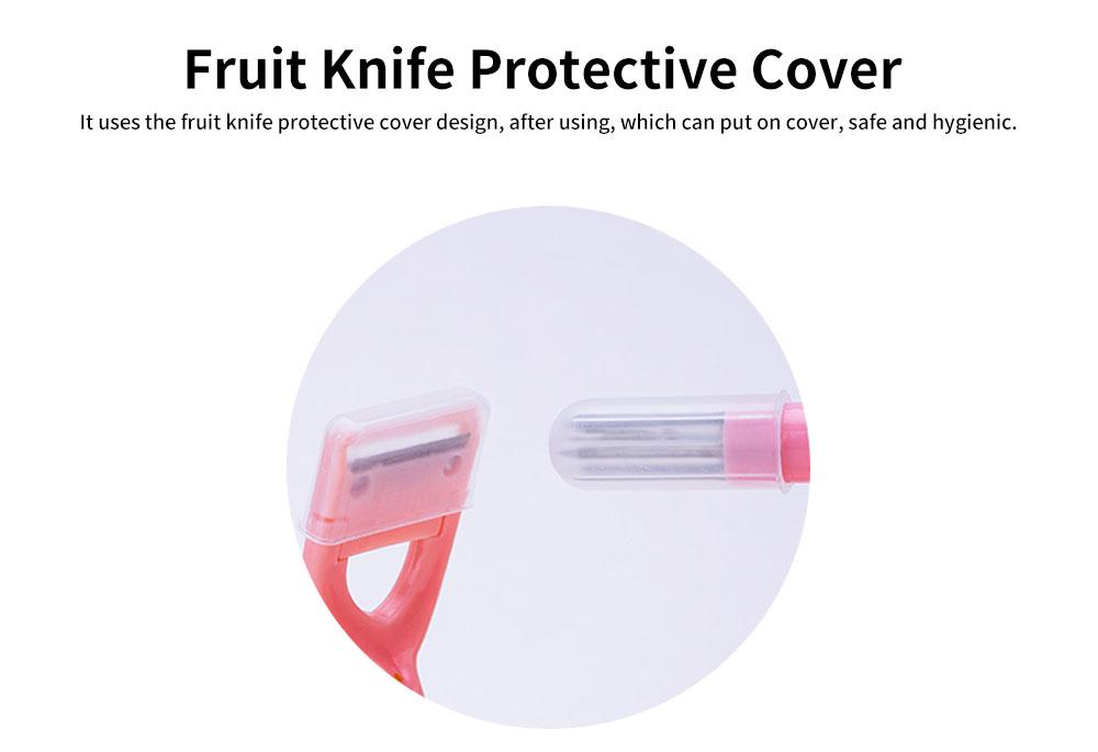 Hand-cranked Multi-function Peeling Machine, Household Fruit Peeling Knifewith Crank Handle & Drag Fruit Key Design 3
