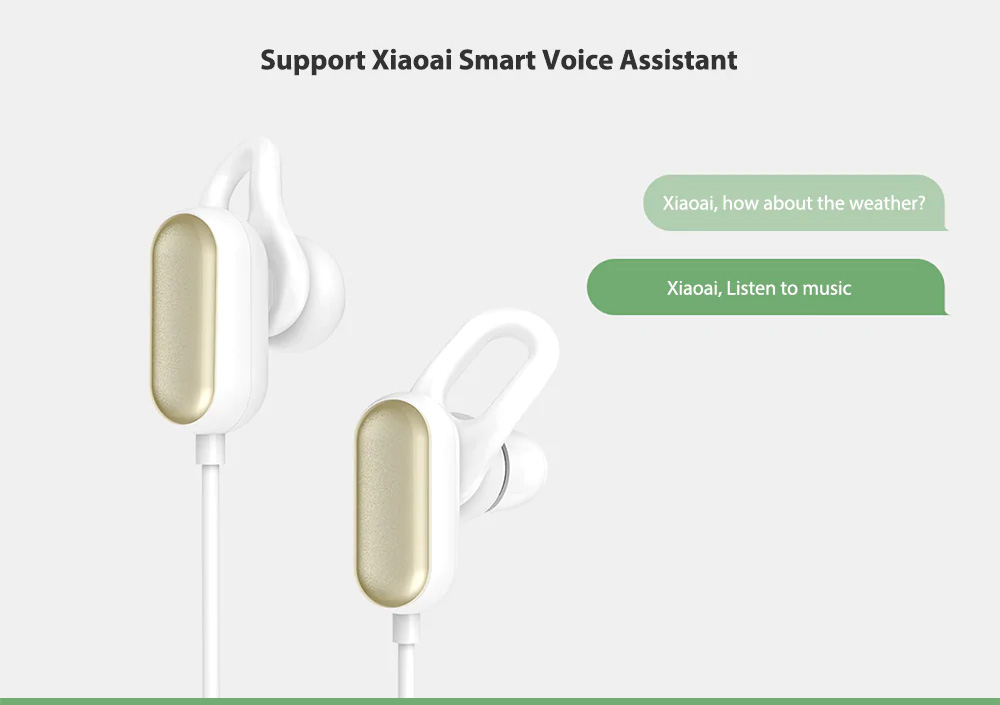 Xiaomi Wireless Headphone Sport Bluetooth Headset Sweat Proof In-ear Hours Playing For Gym Running Workout 8