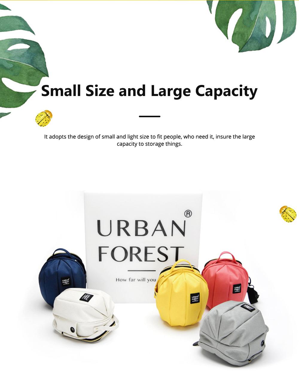 Mini Shoulder Bag for Children Small Size Large Capacity Waterproof Beatles Package Adjustable Shoulder Strap Hand Bag 1