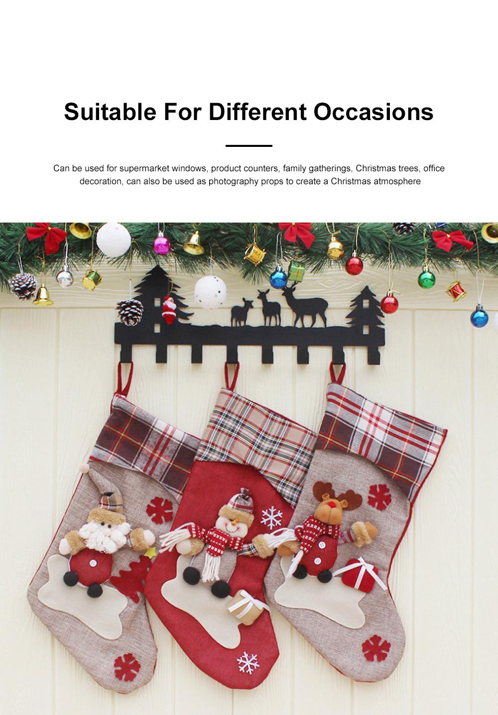 Christmas Decorations Santa Claus Snowman Socks High Quality Christmas Socks Christmas Gift Bags Decorative Gift Bags 1