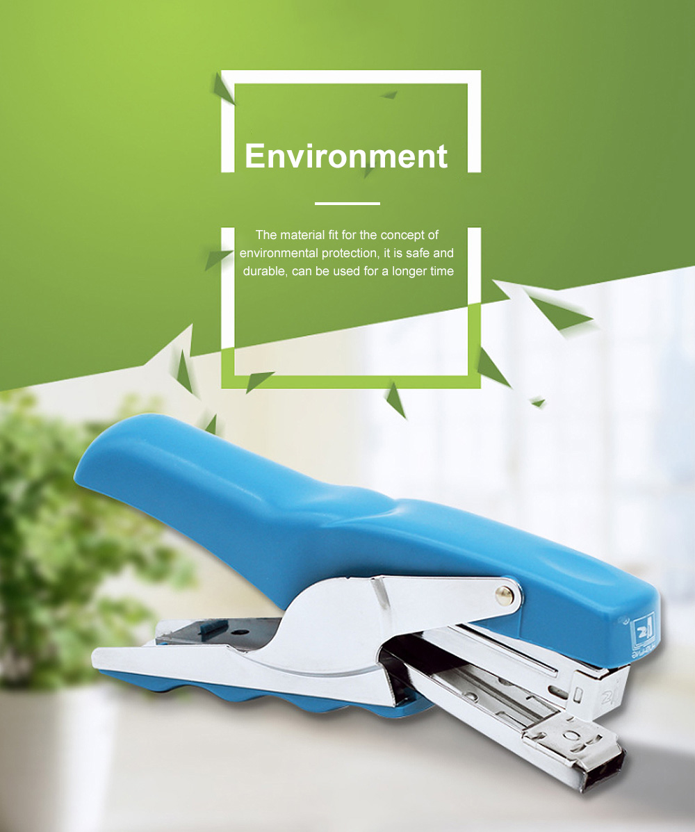 Office Stationery Hand-held Pliers Labor-saving Stapler Binding Machine & School Supplies Book Manual Stapler Desktop Paper 1