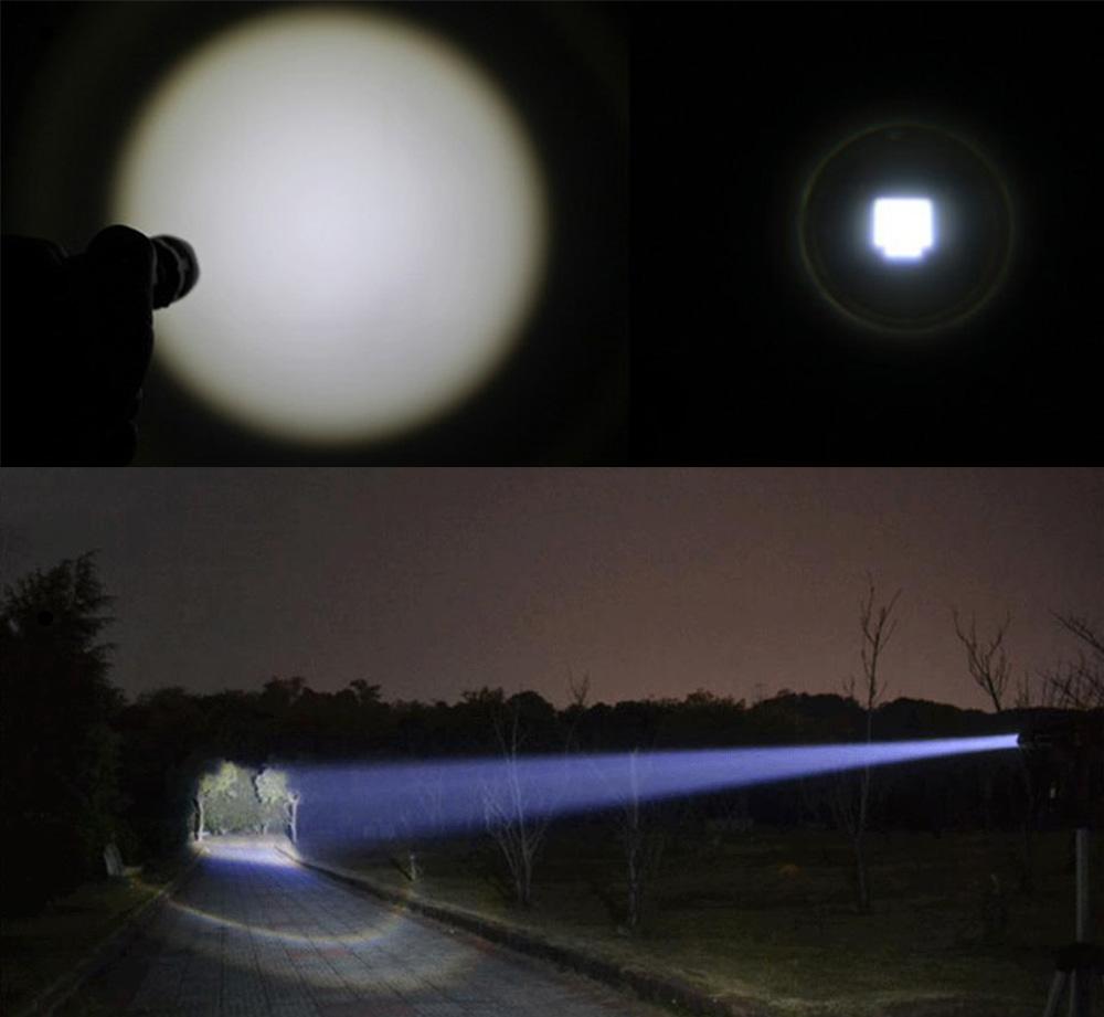 Waterproof LED Flashlight Q5 2000lm 3 Modes Zoomable Self Defense no tazer shock Mini Flash Light Torch Pen Light 1