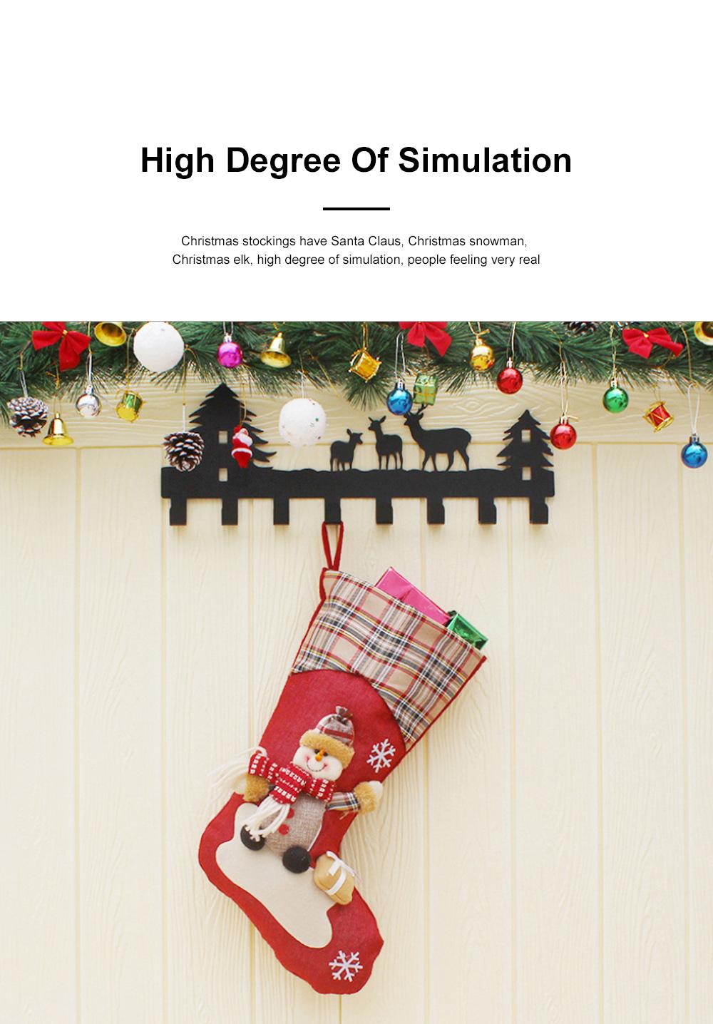 Christmas Decorations Santa Claus Snowman Socks High Quality Christmas Socks Christmas Gift Bags Decorative Gift Bags 2