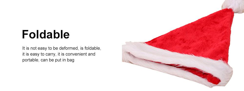 New Manufacturers Wholesale Children's Adult Santa Claus Hat General Non-woven Christmas Decorations Hats 4