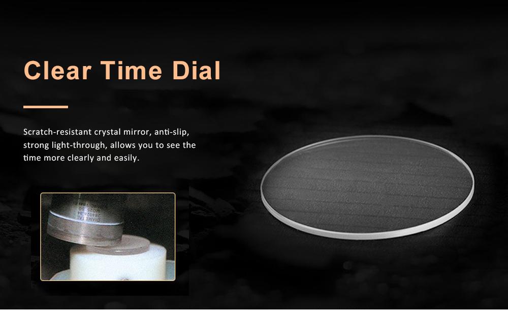Men's Multifunctional Wrist Watch with Luminous Display and Quartz Movement Fashion Waterproof Watch 4
