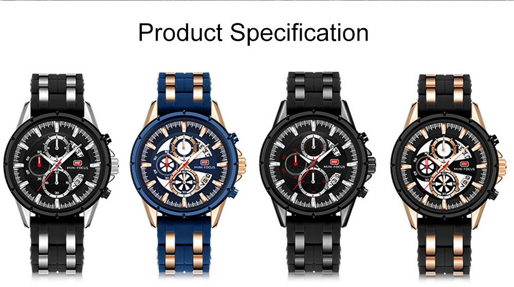 Classic Smart Electronic Watch with Multifunctional Rotary Calendar & Luminous Mode, Waterproof Watch with Wear Resistant Crystal Watch Mirror 8