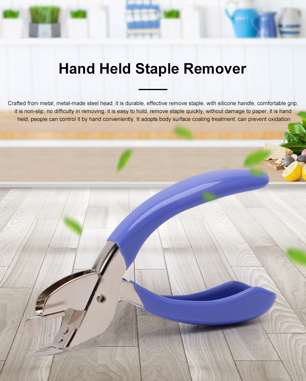 High Quality Hand Held Staple Remover Office Staple Remover Labor-saving And Comfortable Not To Hurt The Paper Stapler 0