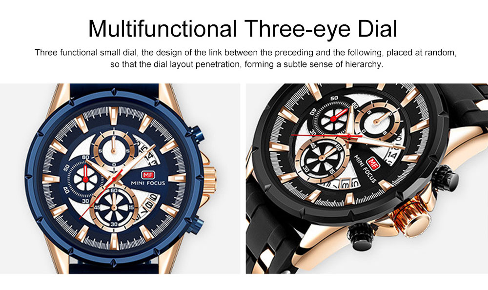 Classic Smart Electronic Watch with Multifunctional Rotary Calendar & Luminous Mode, Waterproof Watch with Wear Resistant Crystal Watch Mirror 2