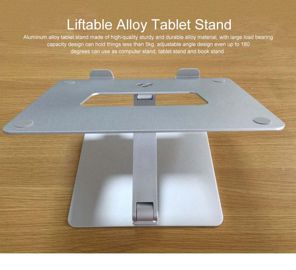 Liftable Aluminum Alloy Notebook Tablet PC Stand 6KG Super Load Bearing Capacity Foldable Notebook Projector Holder 0
