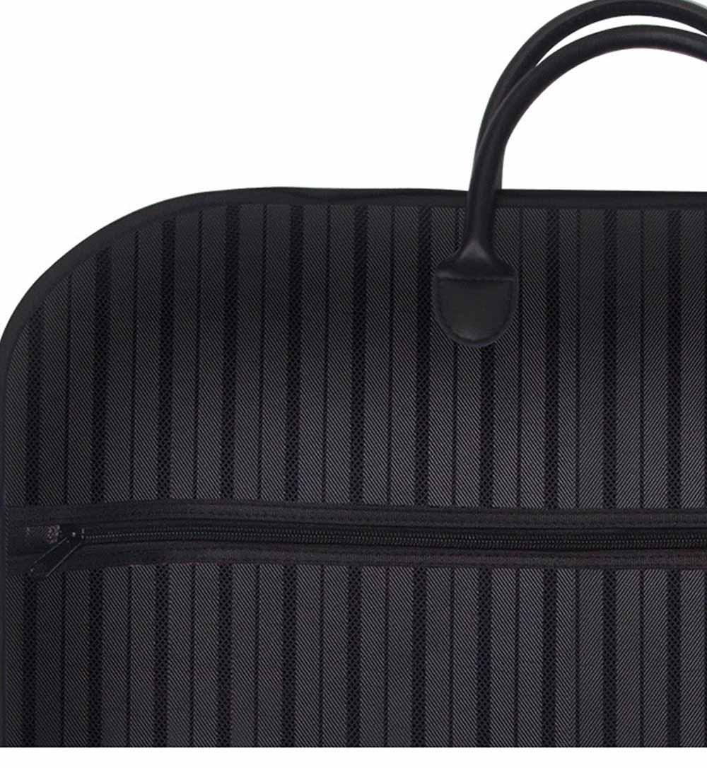 Mens Suit Travel Garment Bag Travel Suit Packing Organizer with Zipper Pocket, Dustproof Garment Folder 2