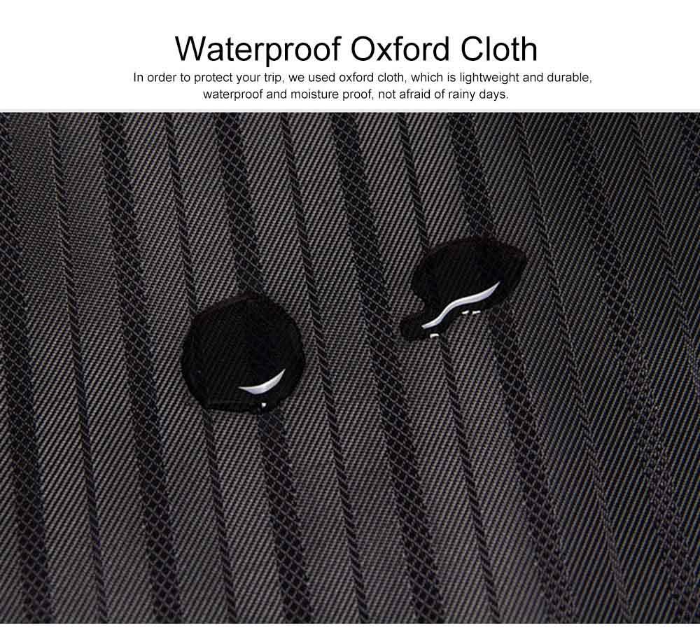 Mens Suit Travel Garment Bag Travel Suit Packing Organizer with Zipper Pocket, Dustproof Garment Folder 3