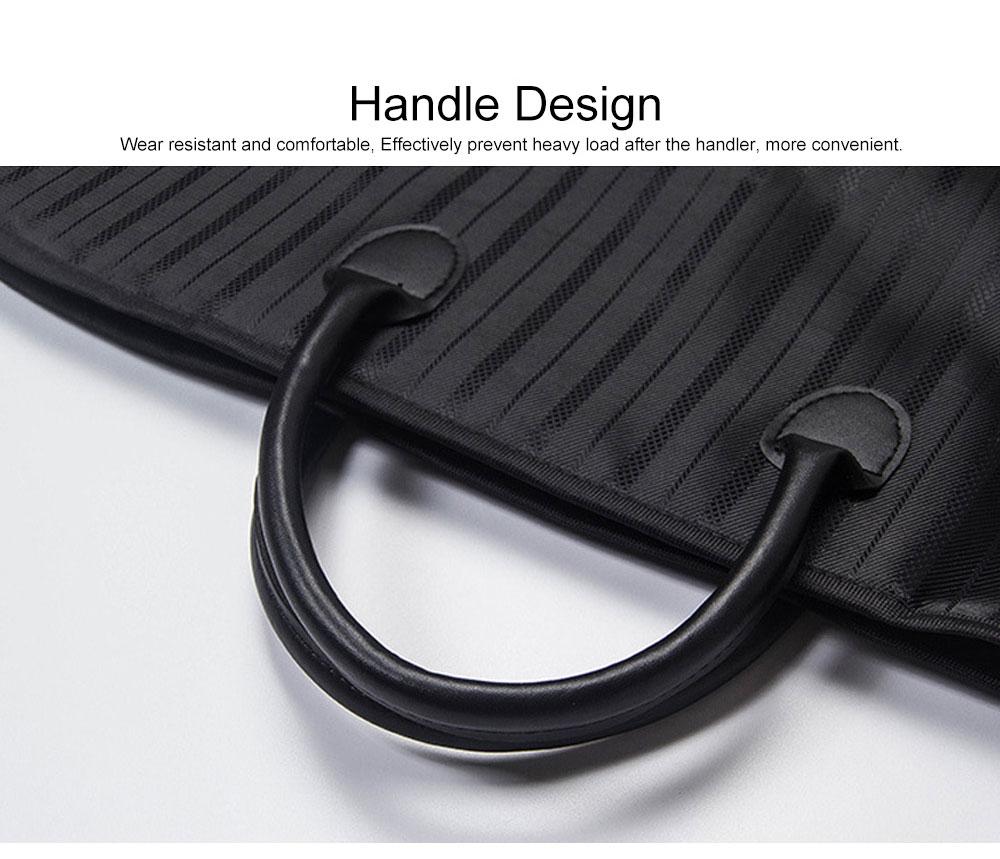 Mens Suit Travel Garment Bag Travel Suit Packing Organizer with Zipper Pocket, Dustproof Garment Folder 5