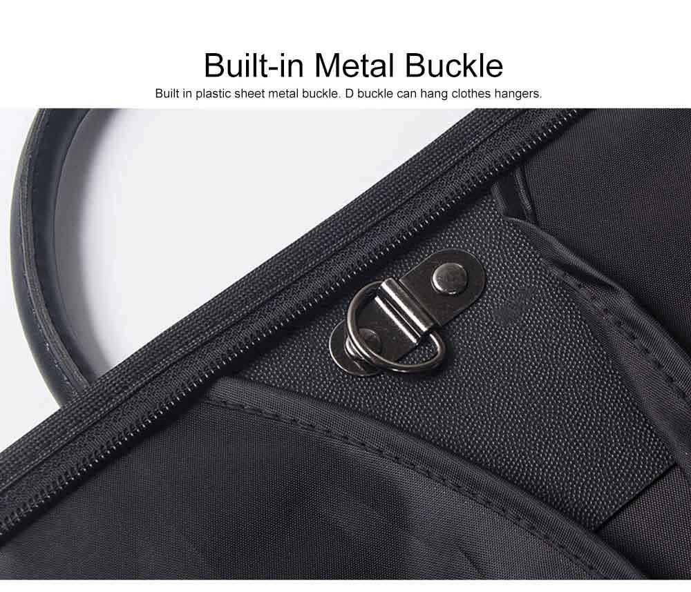 Mens Suit Travel Garment Bag Travel Suit Packing Organizer with Zipper Pocket, Dustproof Garment Folder 6