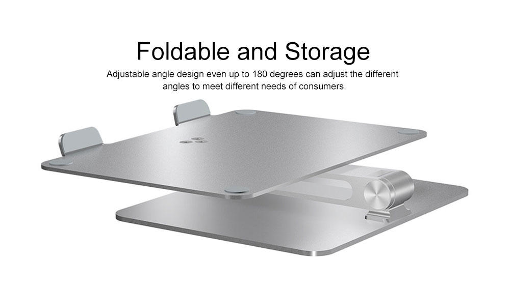 Liftable Aluminum Alloy Notebook Tablet PC Stand 6KG Super Load Bearing Capacity Foldable Notebook Projector Holder 3
