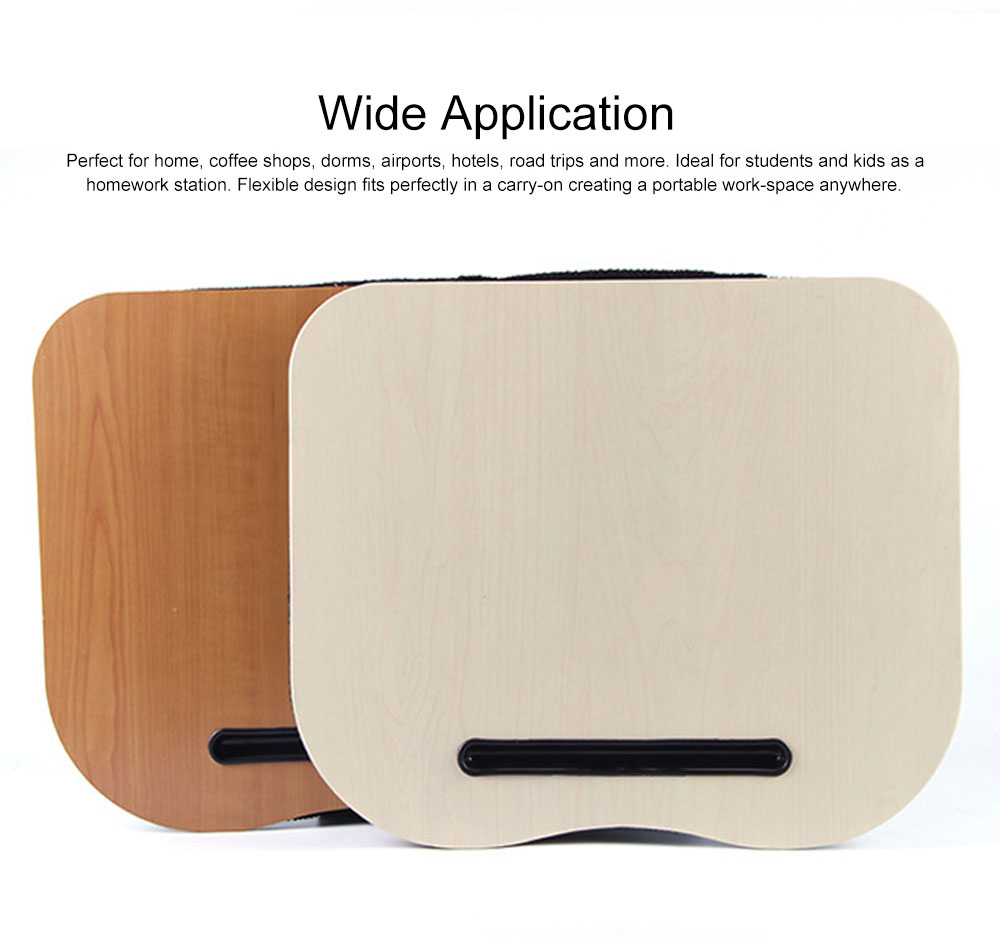 Lightweight Laptop Pad Portable laptop Lap Desk Fashion Cushion Laptop Stand for Home, Coffee Shops, Dorms, Airports, Hotels 3