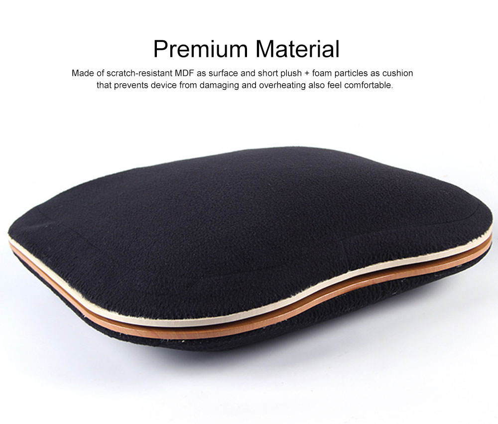 Lightweight Laptop Pad Portable laptop Lap Desk Fashion Cushion Laptop Stand for Home, Coffee Shops, Dorms, Airports, Hotels 2