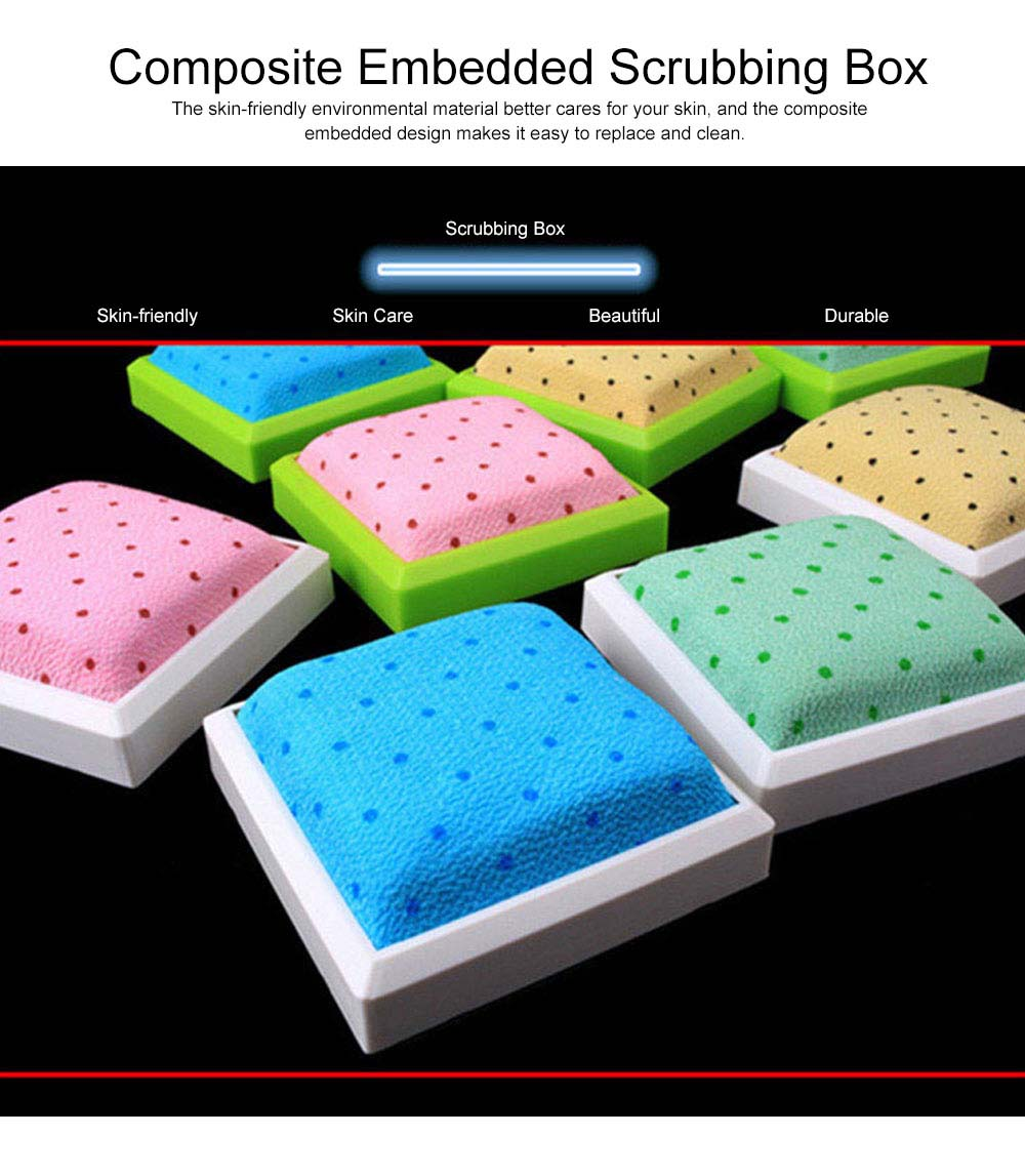 Exfoliating Brush Back Scrubber for Shower Removing Dead Skin and Improving Blood Circulation 2