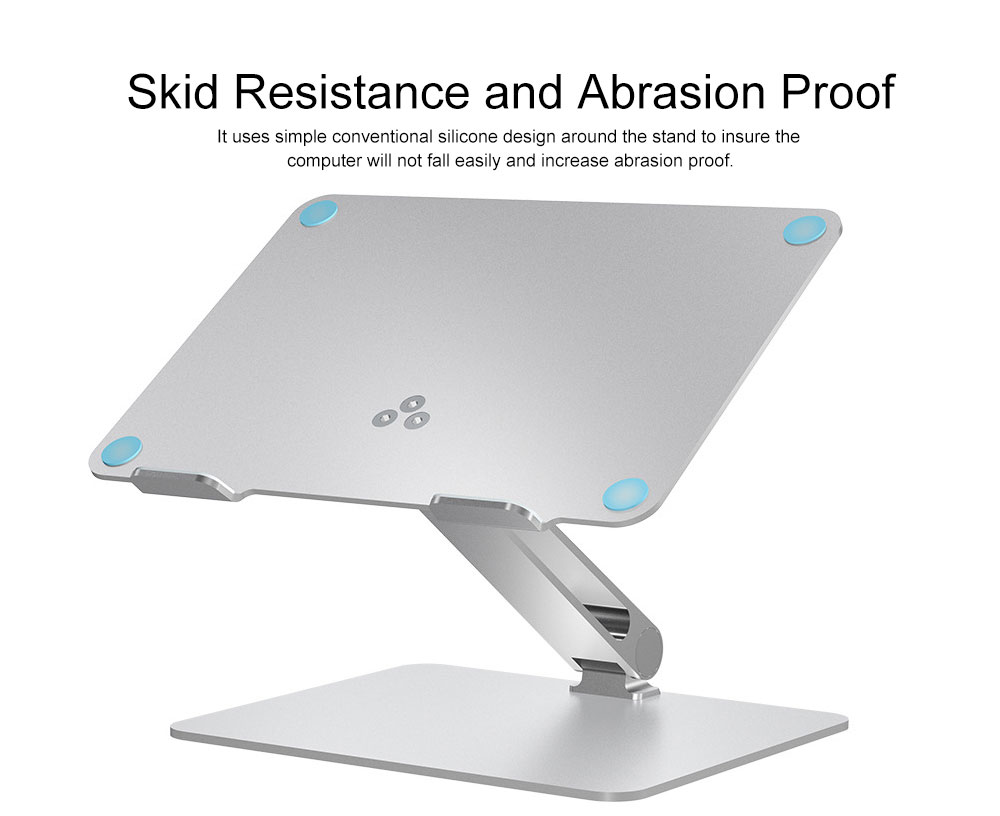 Liftable Aluminum Alloy Notebook Tablet PC Stand 6KG Super Load Bearing Capacity Foldable Notebook Projector Holder 5