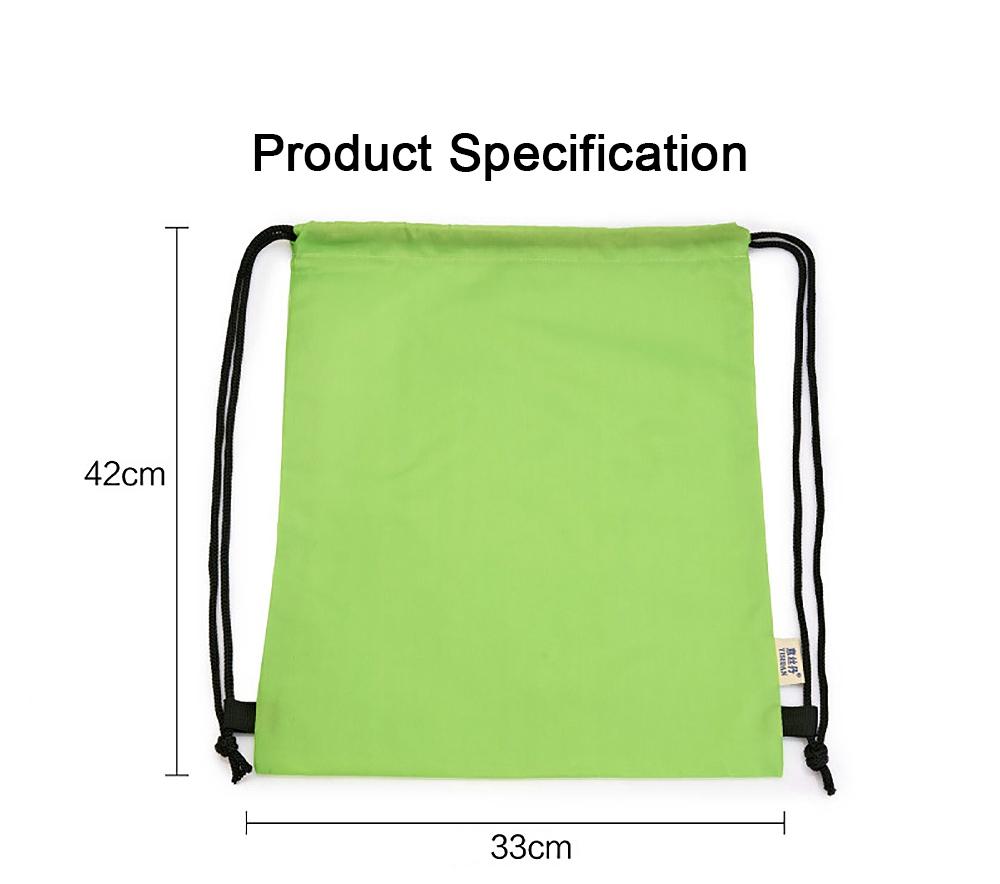 Minimalist Waterproof Moisture-proof Drawstring Shoulders Bag for Storing Picnic Mat Daily Objects Outdoors Accessories 6