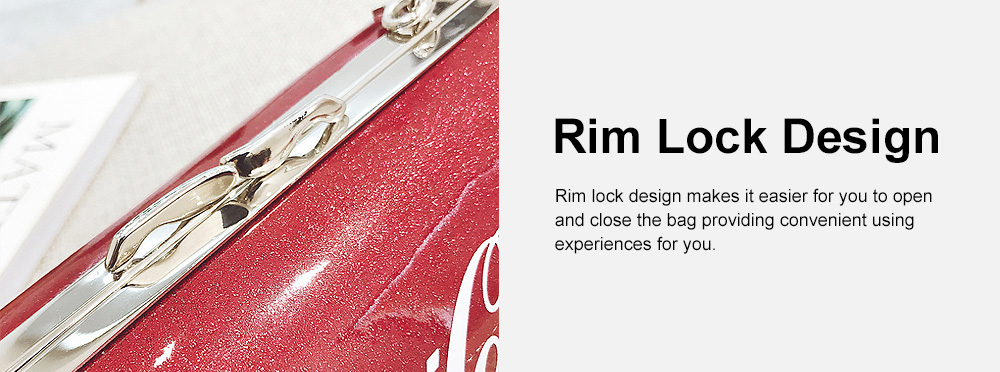 Cute Creative Coca-Cola Sprite Can Lady Shoulder Bag, Tough PU Creative Letters Decoration Small Cross-body Bag for Women 5